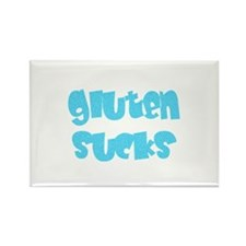 gluten sucks Rectangle Magnet (10 pack)
