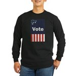 Vote Long Sleeve Dark T-Shirt