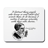 Susan B. Anthony Mousepad