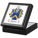 Signorini Family Crest Keepsake Box