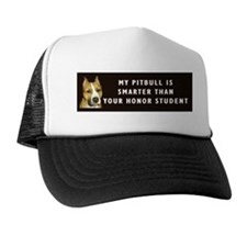 pit bull honor student Trucker Hat