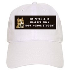 pit bull honor student Baseball Cap