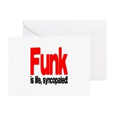Funk is Life, Syncopated! Greeting Cards (Pk of 20