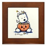 Hallowestie Framed Tile