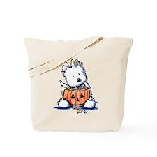 Hallowestie Tote Bag