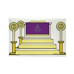 The Altar Rectangle Magnet (10 pack)