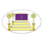 The Altar Oval Sticker (10 pk)