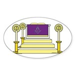 The Altar Oval Sticker (50 pk)