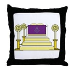 The Altar Throw Pillow