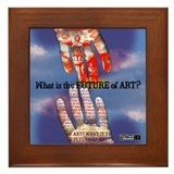 What is the Future of Art? Framed Tile
