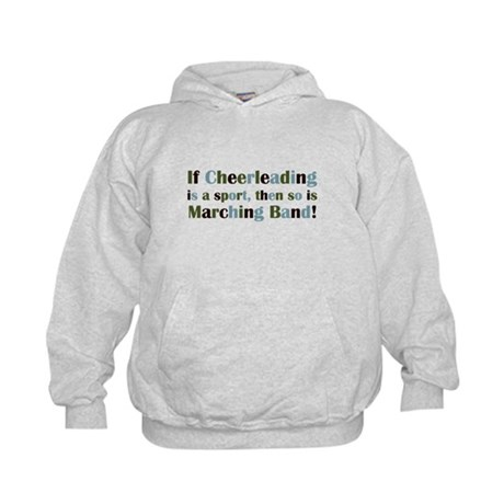 Band is a Sport Kids Hoodie