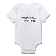 Proud to be a Riveter Infant Bodysuit