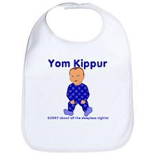 Yom Kippur Blue PJs Med Skin Bib