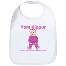 Yom Kippur Pink PJs Lt Skin Bib