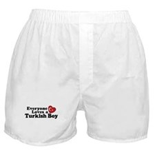 Everyone Loves a Turkish Boy Boxer Shorts