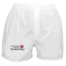 Everyone Loves a Turkish Boy Boxer Shorts