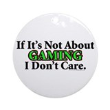 Gaming Ornament (Round)