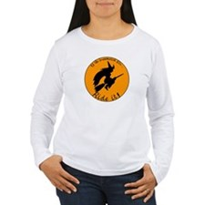 Halloween Witch Broom T-Shirt