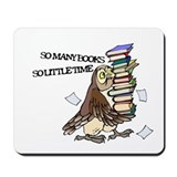 So Many Books Mousepad