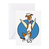 GreyhoundAngel Greeting Cards (Pk of 10)