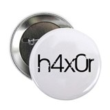 "H4x0r 2.25"" Button (10 pack)"