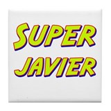 Super javier Tile Coaster