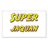 Super jaquan Rectangle Decal