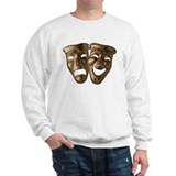 Drama and Comedy Masks Sweatshirt