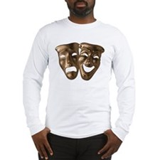 Drama and Comedy Masks Long Sleeve T-Shirt