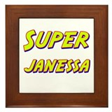 Super janessa Framed Tile