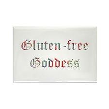 Gluten-free Goddess Rectangle Magnet (10 pack)