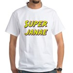 Super janae White T-Shirt