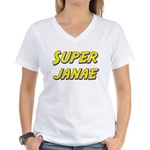 Super janae Women's V-Neck T-Shirt