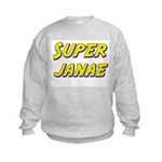Super janae Kids Sweatshirt