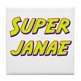 Super janae Tile Coaster