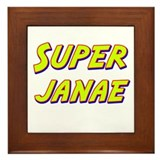 Super janae Framed Tile