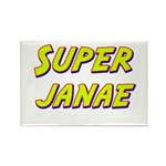 Super janae Rectangle Magnet