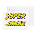 Super janae Greeting Card