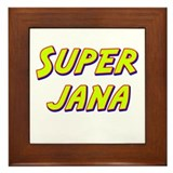 Super jana Framed Tile