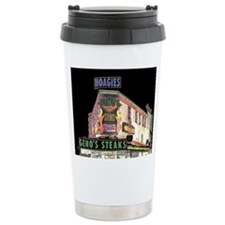 Cheese Steak Stand Ceramic Travel Mug