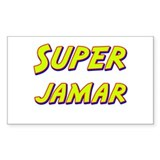 Super jamar Rectangle Decal