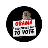 "MONKEYS FOR BARACK 3.5"" Button (100 pack)"
