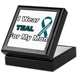 Mom Ovarian Cancer Survivor Keepsake Box
