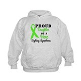 ProudDaughterHeroLymphoma Hoodie