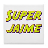 Super jaime Tile Coaster