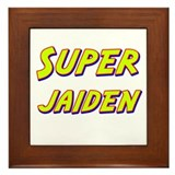Super jaiden Framed Tile