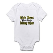 """Life...Drinking Mojitos"" Infant Bodysuit"