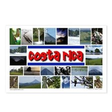 Cute Costa rica Postcards (Package of 8)