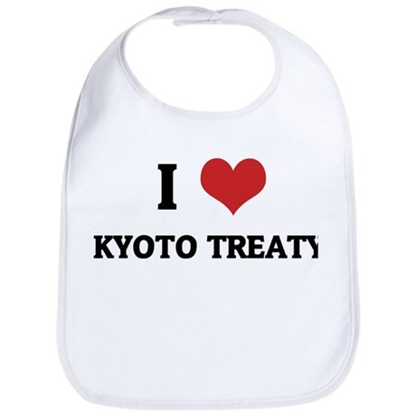 I Love Kyoto Treaty Bib