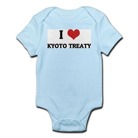 I Love Kyoto Treaty Infant Creeper